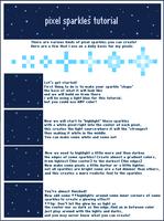 Pixel Sparkle Tutorial by CrystalSugarStars
