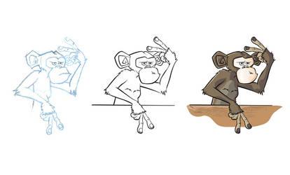 monkeys are funny