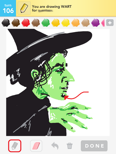 Wicked Witch Drawings Draw Something Wart Wicked