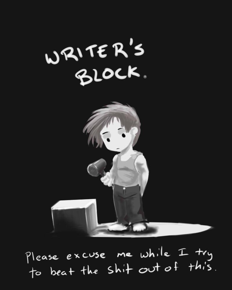 Essay due tomorrow - i have severe writer's block.?