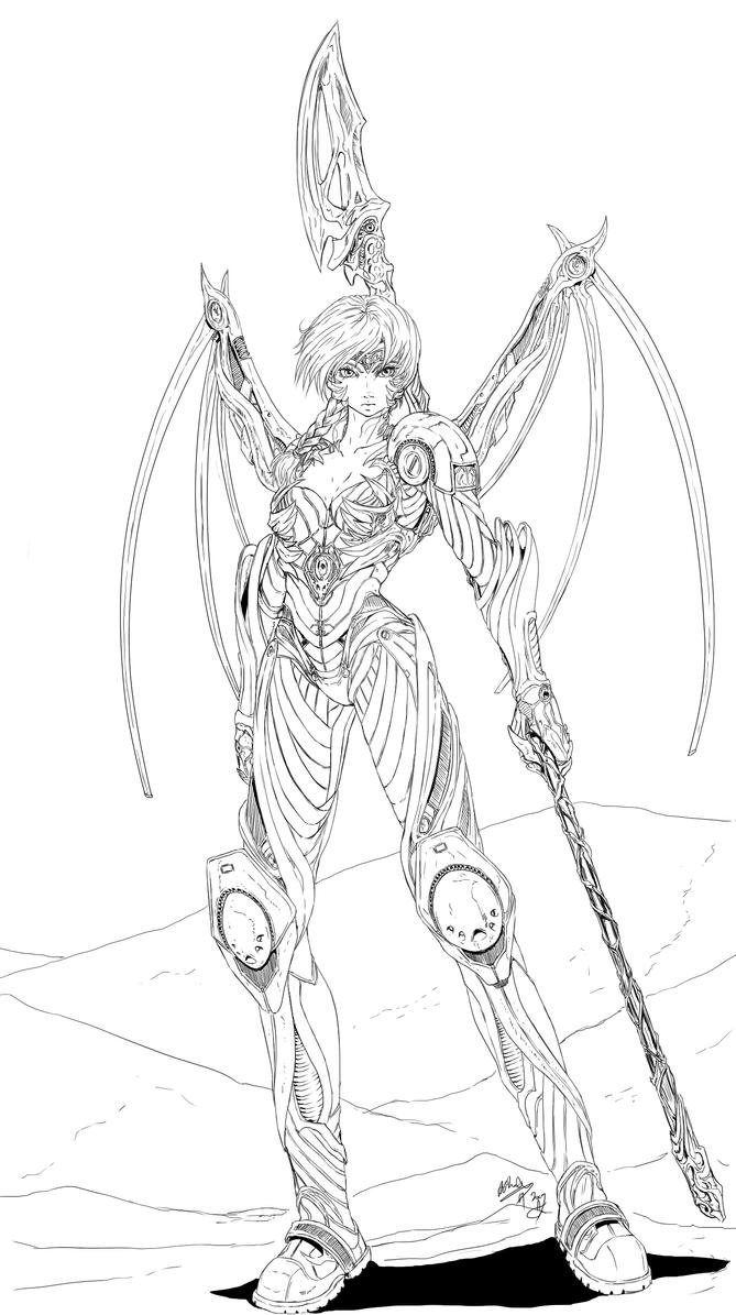 Athena MAX by AphexAngel