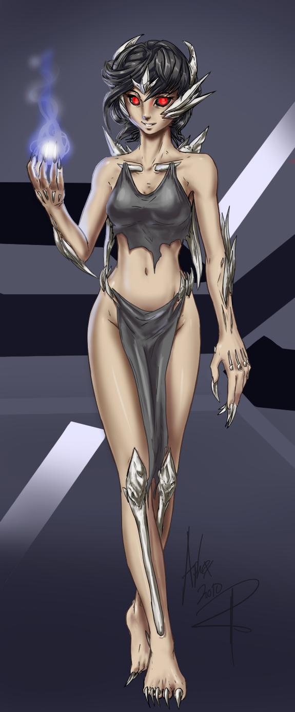 Bone Queen by AphexAngel