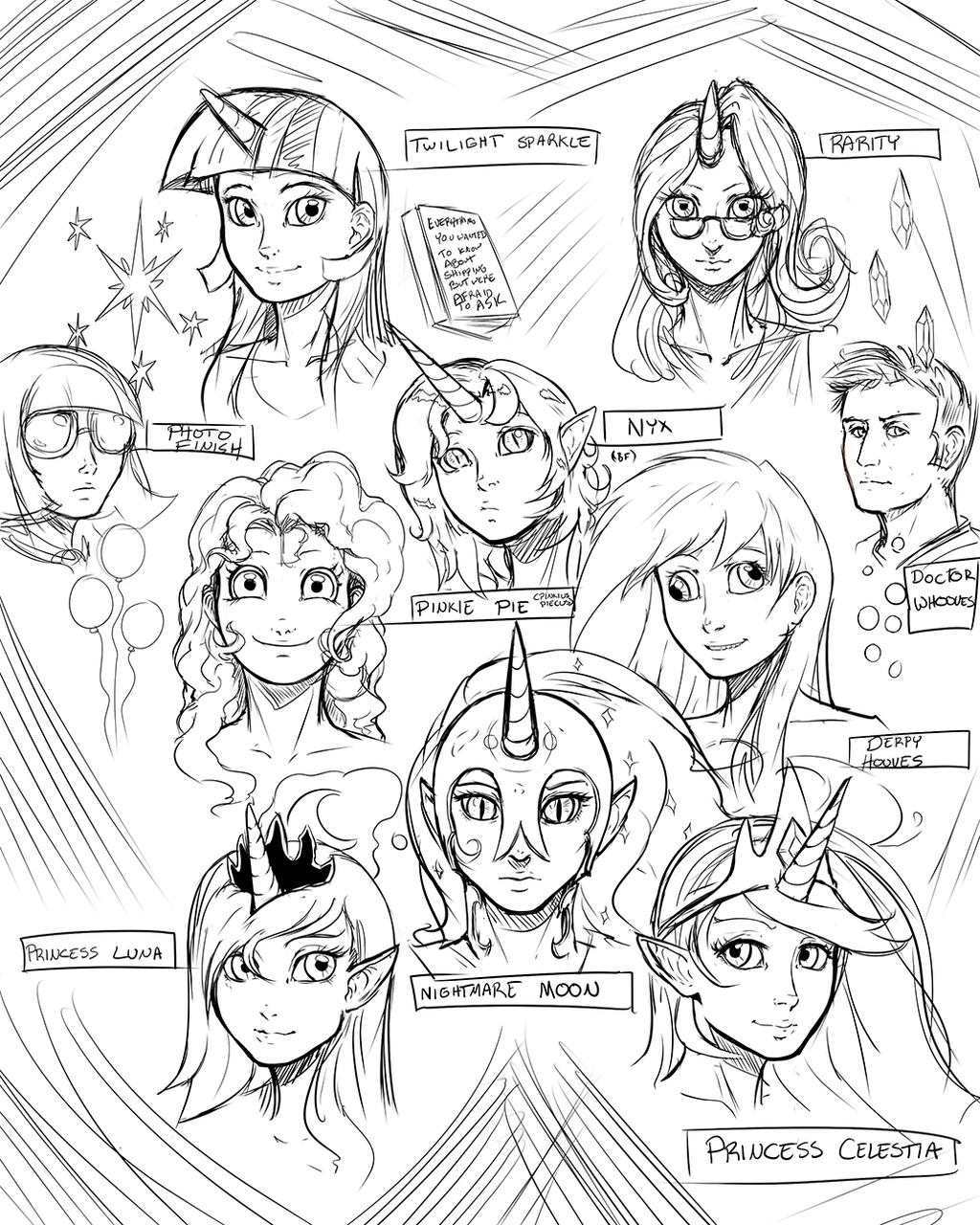 Humanized Pony Design Sketches 252055785 as well 487022147176044308 also  on nightmare twilight sparkle fanfic