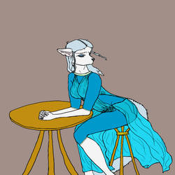 Melachony Blue by LadyLiena