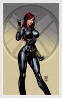 Black Widow by Finch and Walden Wong by Kristherion