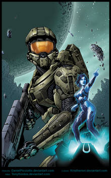 Master Chief by Picci8 and Tony Kordos