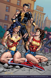 Wonder Woman  Wonder girl by Rene Micheletti