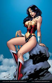 Wonder Woman by Ricardo Silva