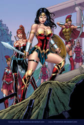 Amazons Warriors by Medson Lima