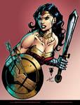 Wonder Woman by Revolvercomics