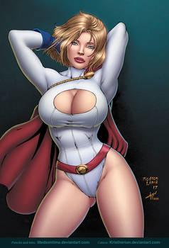 Power Girl by Medson Lima