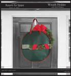 Wreath Holder Photo Cardboard