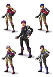 The Many Styles of Sabine Wren