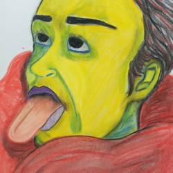 Weird Portrait by barbanimates