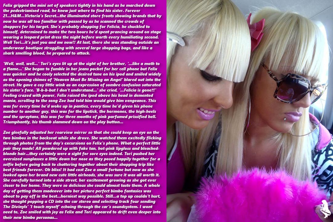 Lesbian bondage stories blackmail