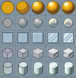 Tutorial: How to draw Shiny Materials by oni1ink