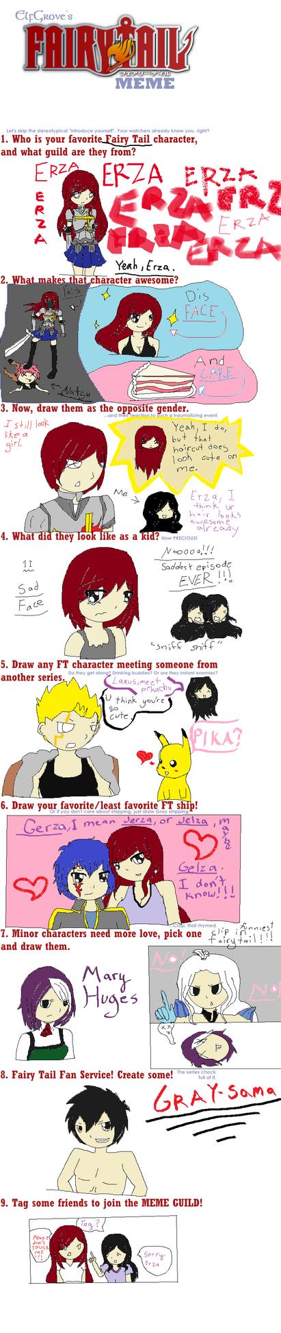 Fairy Tail Meme By Twilightkira27 On Deviantart