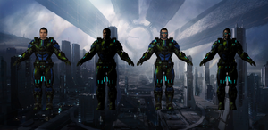 Kaidan Alternative Suit for XNALara
