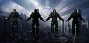 Kaidan Alternative Suit for XNALara by Melllin