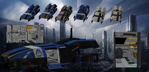 Shuttles with full interior for XNALara V.:3.0