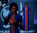 Khalisah al-Jilani z Mass Effect 3 dla XNALara by Melllin
