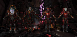 Talon soldiers from Mass Effect 3 for XNALara