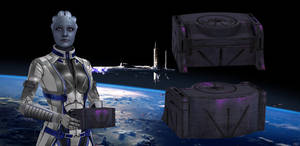 Liara's Time Capsule from Mass Effect 3 for XNALar