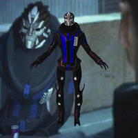 Lorik Qui'in from Mass Effect for XNALara by Melllin