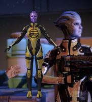 Capitan Enyala from Mass Effect 2 for XNALara by Melllin