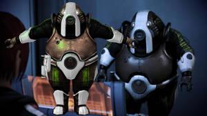 Barla Von from Mass Effect for XNALara by Melllin