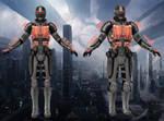 Sentinel from Mass Effect 3 for XNALara