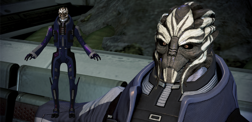 General Oraka from Mass Effect 3 for XNALara