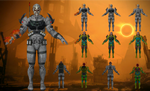 Batarian Sentinel from Mass Effect 3 for XNALara