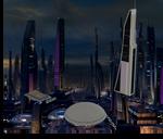 Ilium Buildings from Mass Effect 2 for XNALara