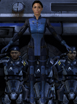 Ashley Madeline Williams from Mass Effect 2 and 3