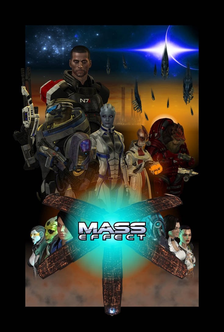 Mass Effect 3 The Game by Melllin