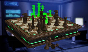 Chessboard from Mass Effect 3 for XNALara by Melllin