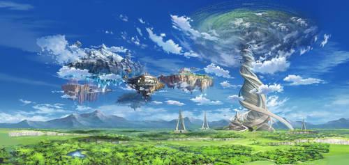 Sword Art Online: Lost Song - landscape - Remaster by Melllin