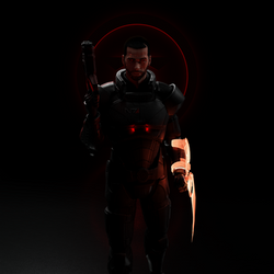 Red stands for the Renegade (male version)