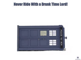 Drunk Time Lord by purplerhino