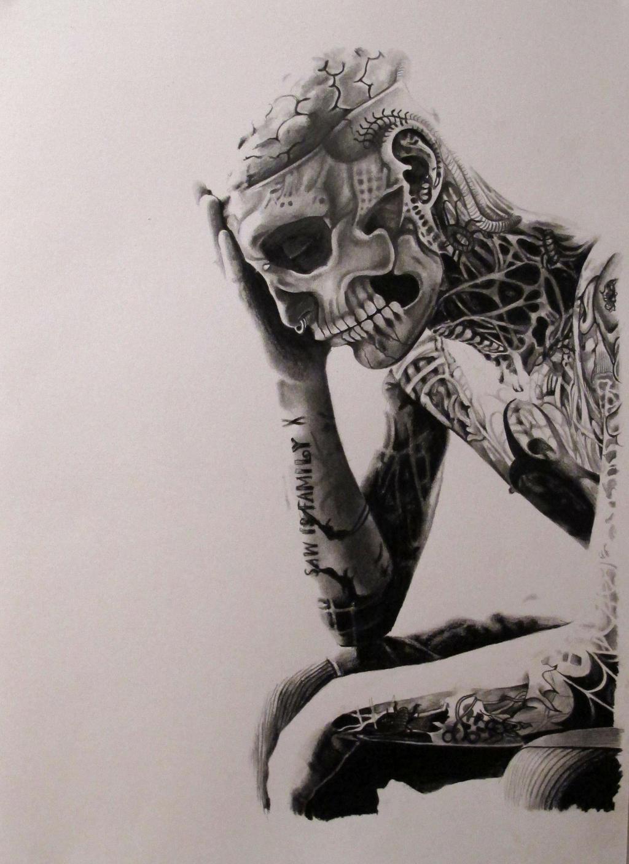 Rico the zombie by Livia95