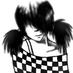 Emo girl by AnnElfwind