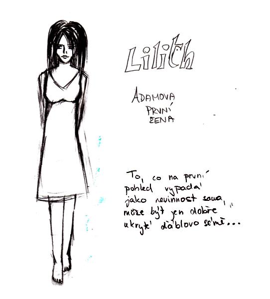 Lilith - Biblical Myth by AnnElfwind