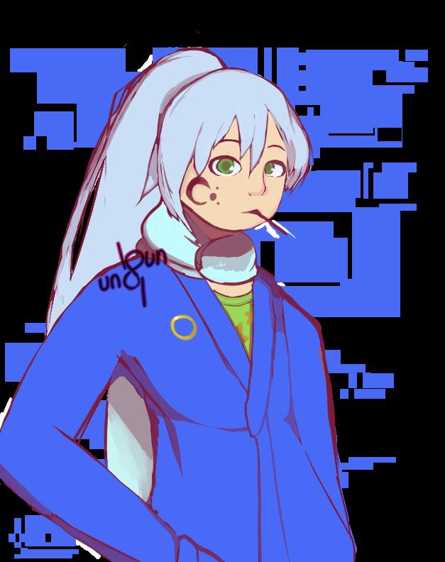 The guy who looks like Sonic by Shiro-Sampaguita