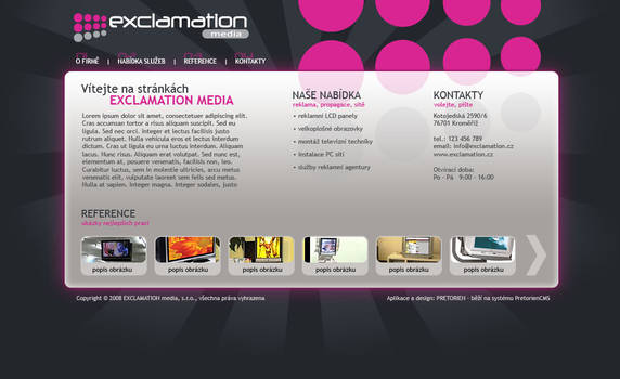 Exclamation media