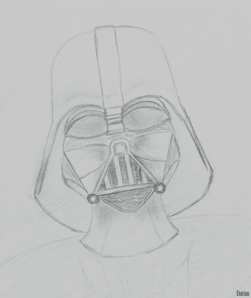 Darth Vader Sketch n1 by Evarian on DeviantArt