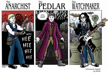The Anarchist, The Pedlar, and The Watchmaker
