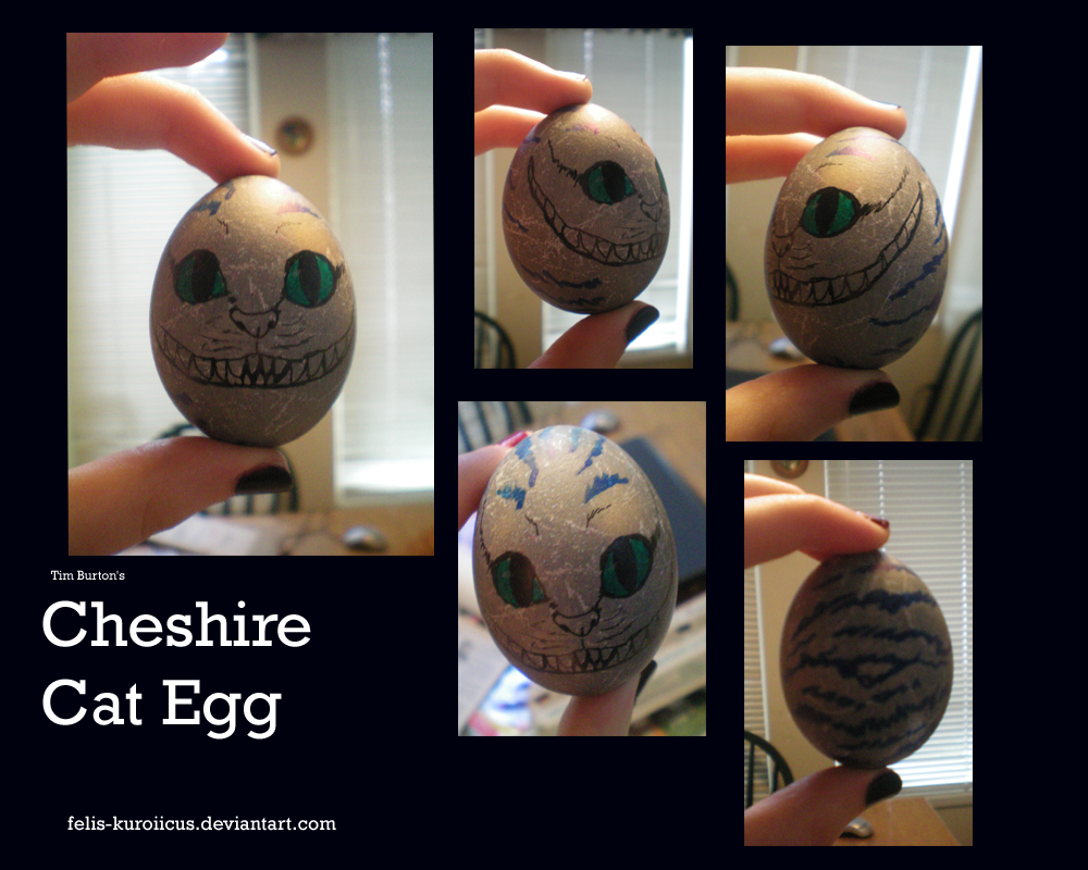 Cheshire Cat Egg By MelvisMD