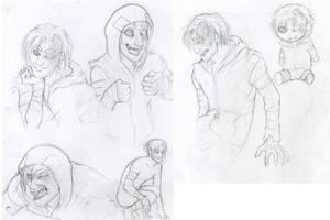 L4D: Rumble sketches