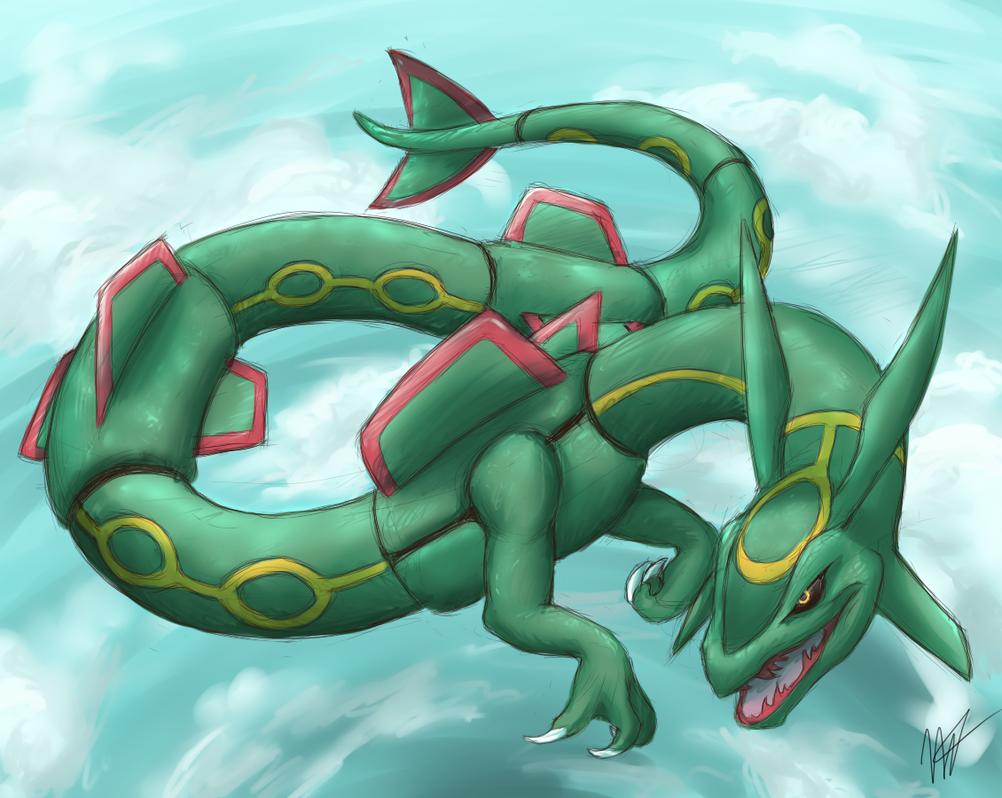 Pokemon rayquaza